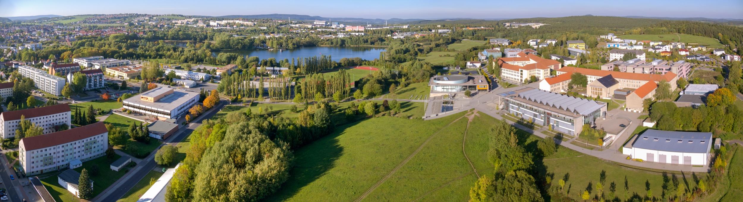 TU Ilmenau Panorama