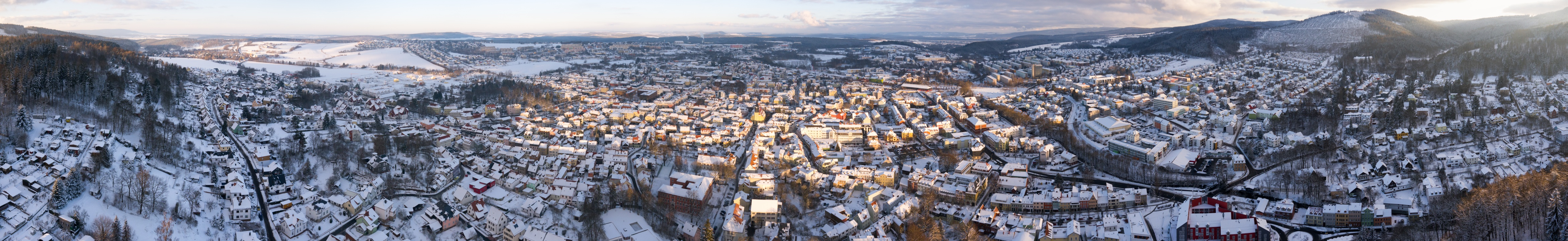 Ilmenau Winterpanorama
