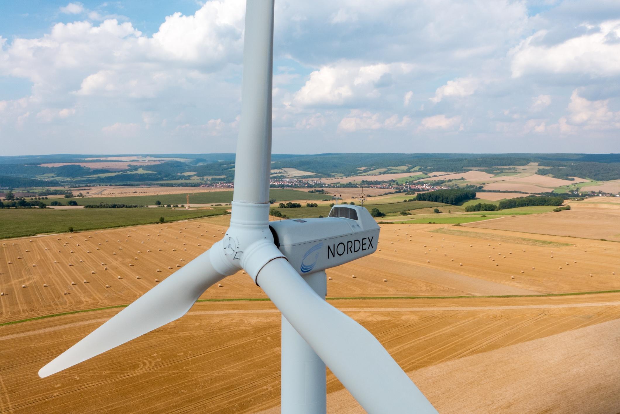 Inspektionsflug Windkraftanlage
