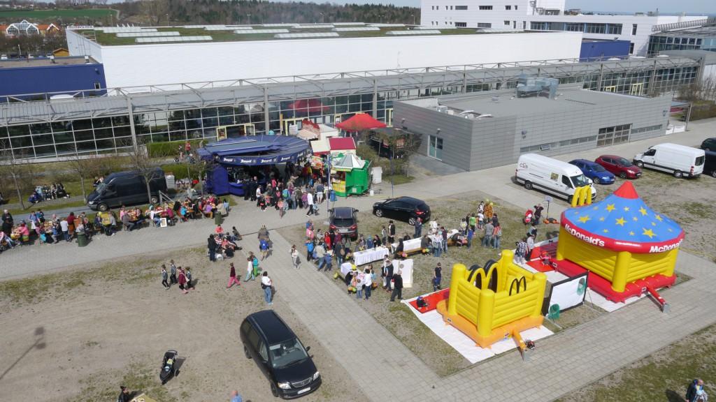 Außengelände Messe Erfurt
